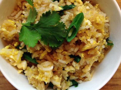 Easy Thai Fried Rice The Wanderlust Kitchen
