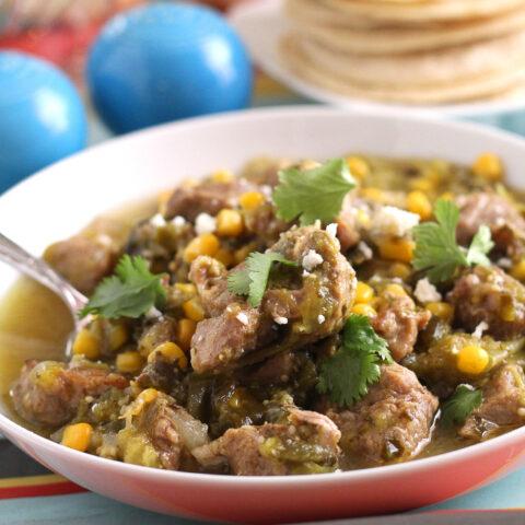 Latin Port Tomatillo Stew Recipe
