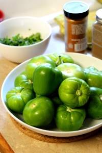 This tasty Latin Pork Tomatillo Stew recipe bursts with flavor from poblano and serrano chilies, tomatillos, onions, corn, pork and spices for a stew that really satisfies your taste buds!