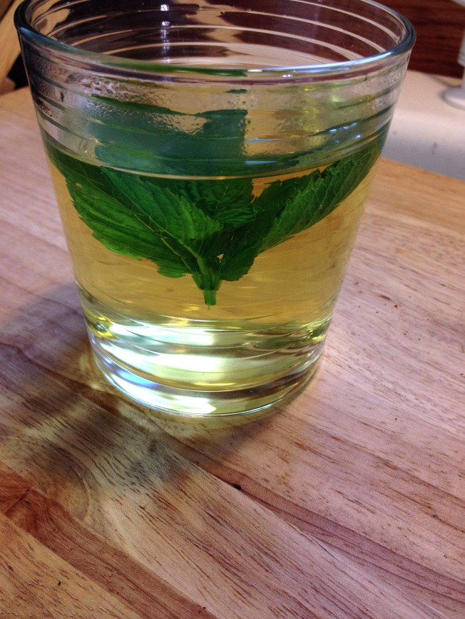 A delicious homemade Moroccan Mint Tea recipe to go with any Moroccan dish, including our Moroccan Lentil Soup.
