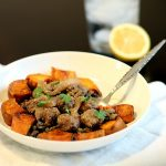 Syrian Meatballs and Sweet Potatoes