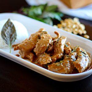 Peanut Panang Beef Curry