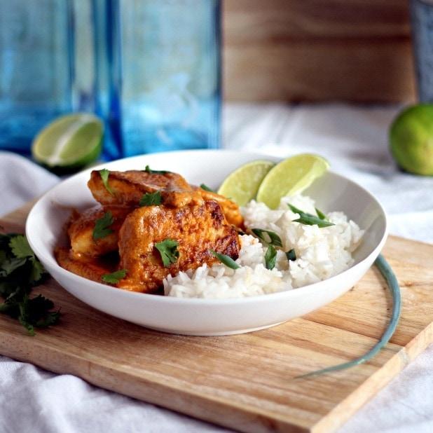 Tilapia Thai Sauce: Crispy Tilapia In Thai Coconut Curry Sauce