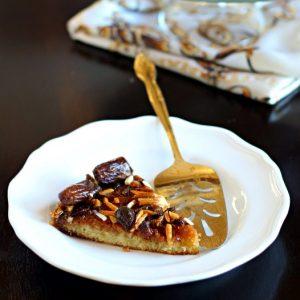 Arabic Date and Honey Cake