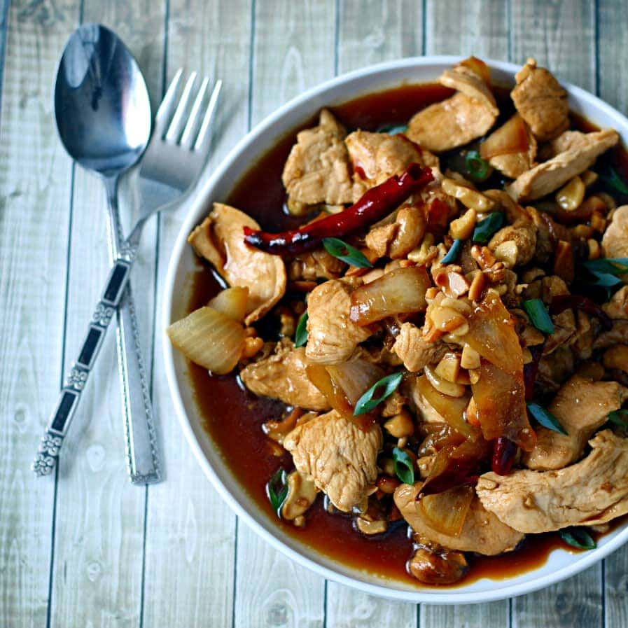 Thai Chicken With Cashews The Wanderlust Kitchen