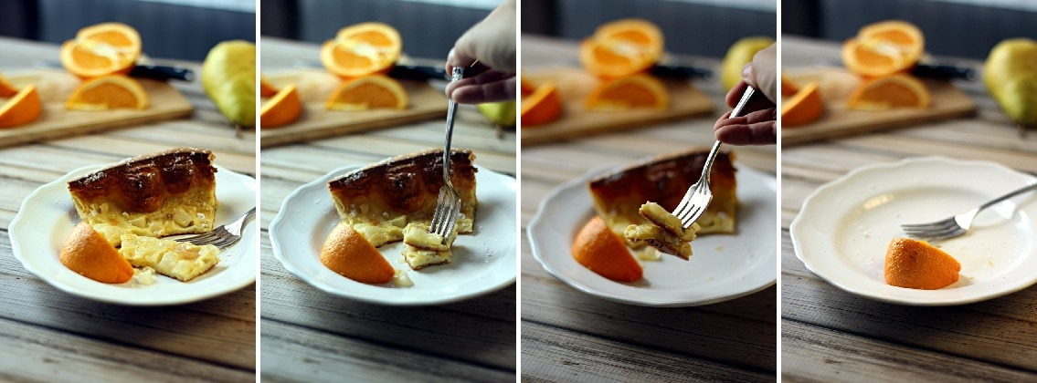 Dutch Baby With Caramelized Vanilla Bean Pears Recipes — Dishmaps