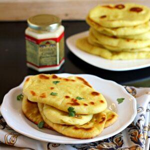 Easy Homemade Indian Naan Bread