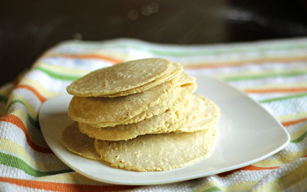 Easy Homemade Tortillas Corn Recipe. These homemade corn tortillas are so, so, so easy to make and the result is soft, warm, and full of incredible flavor! You just measure, stir, form a ball, cover it, let it rest for 30 minutes, press into tortillas, and fry.