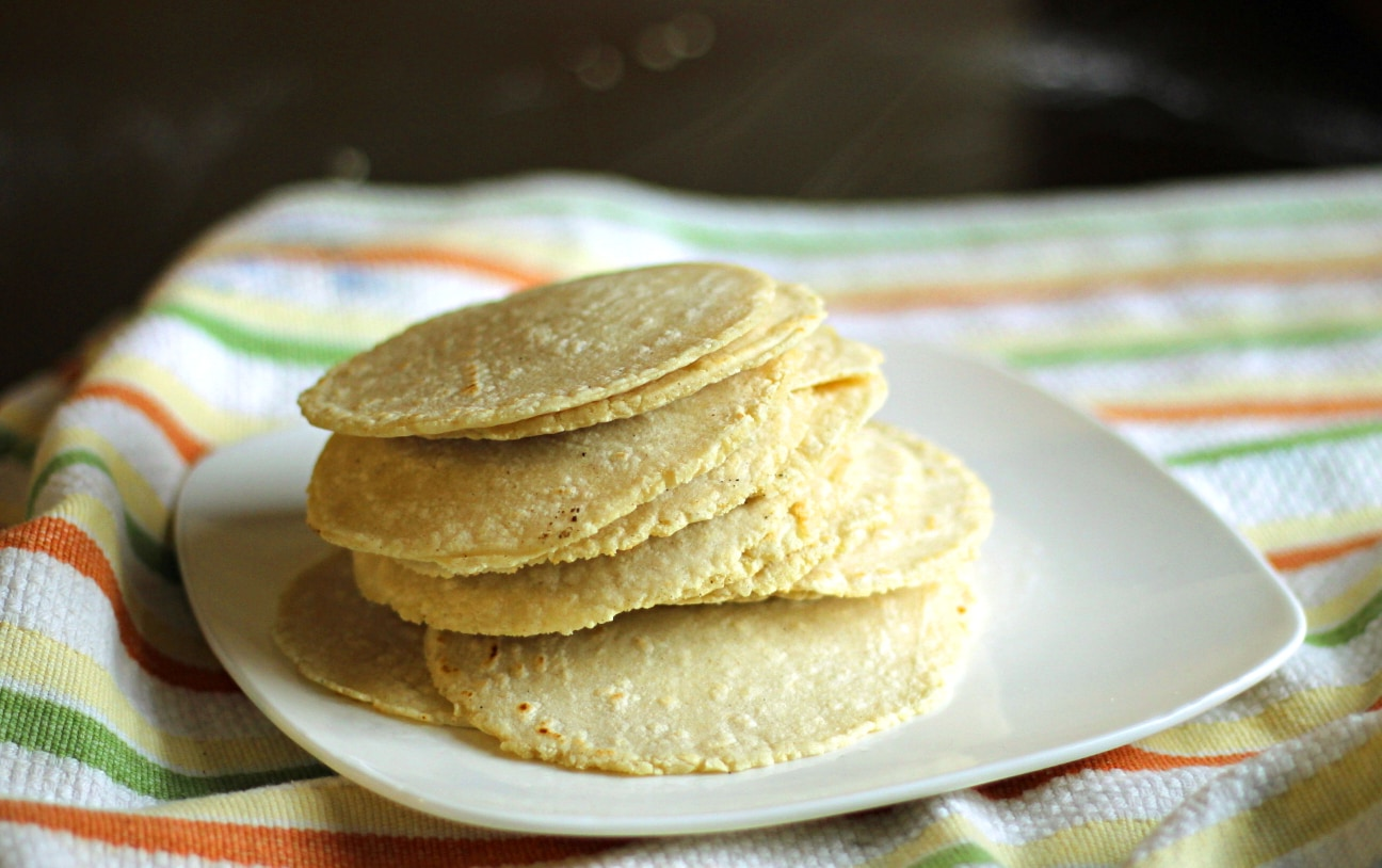 Easy Homemade Corn Tortillas - The Wanderlust Kitchen