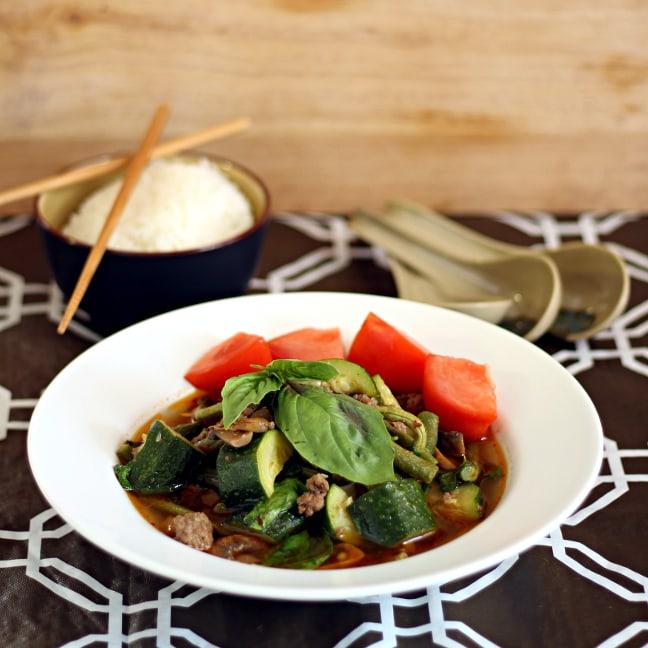 Rustic Thai Beef Soup