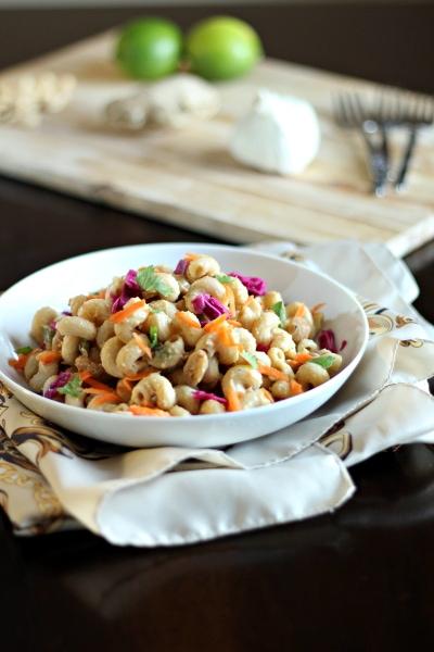 Hot & Cold Thai Peanut Noodles