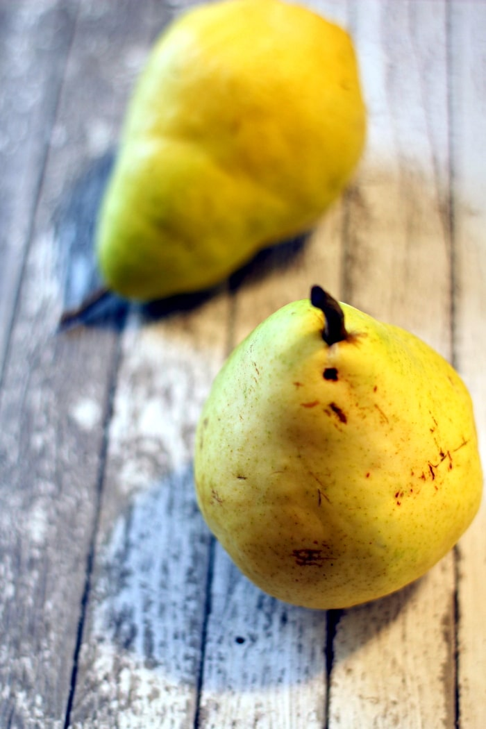 Pears are in abundance this time of year and I thought the soft ...