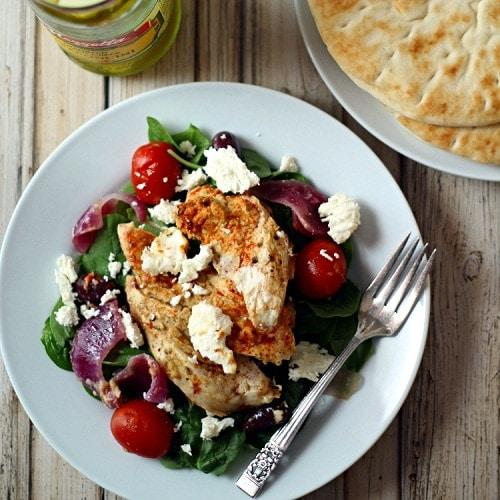 Baked Greek Chicken The Wanderlust Kitchen
