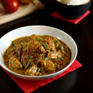 Indian Tomato-Cilantro Chicken