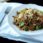 Gingered Vegetable Noodle Stir Fry