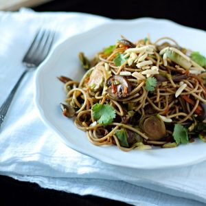 Gingered Vegetable Noodle Stir-Fry