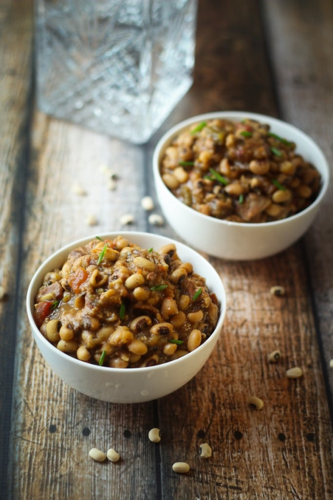 Slow Cooked Black Eyed Peas