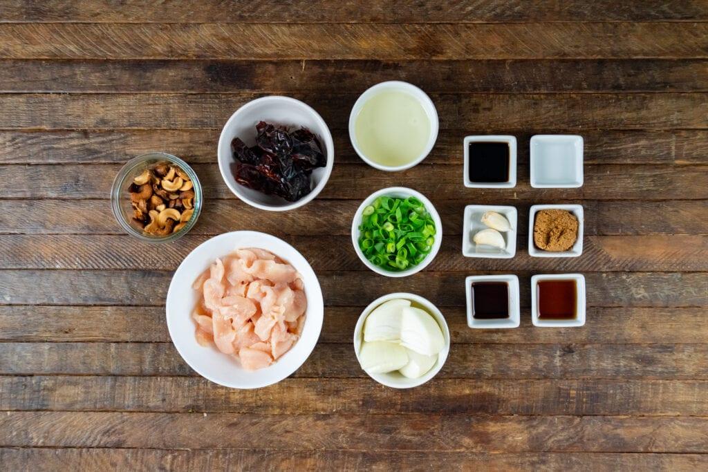 How to Make Thai Cashew Chicken - Thai Cashew Chicken Ingredients