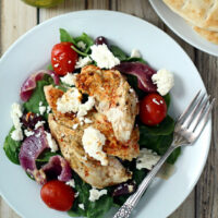 Baked Greek Chicken