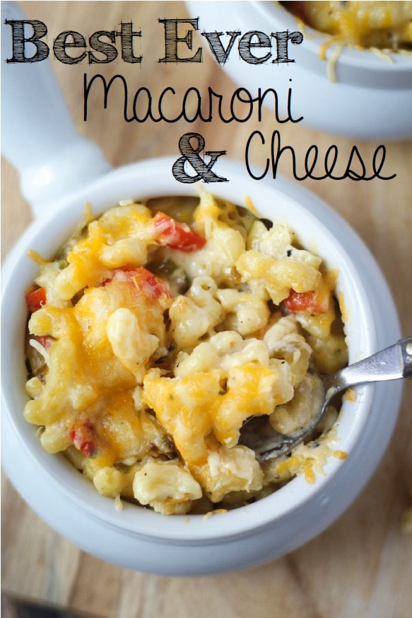 This warm, cheesy, delicious Baked Macaroni and Cheese recipe will satisfy your hunger and put a smile on your face! Eat it as a  side dish or the main course.