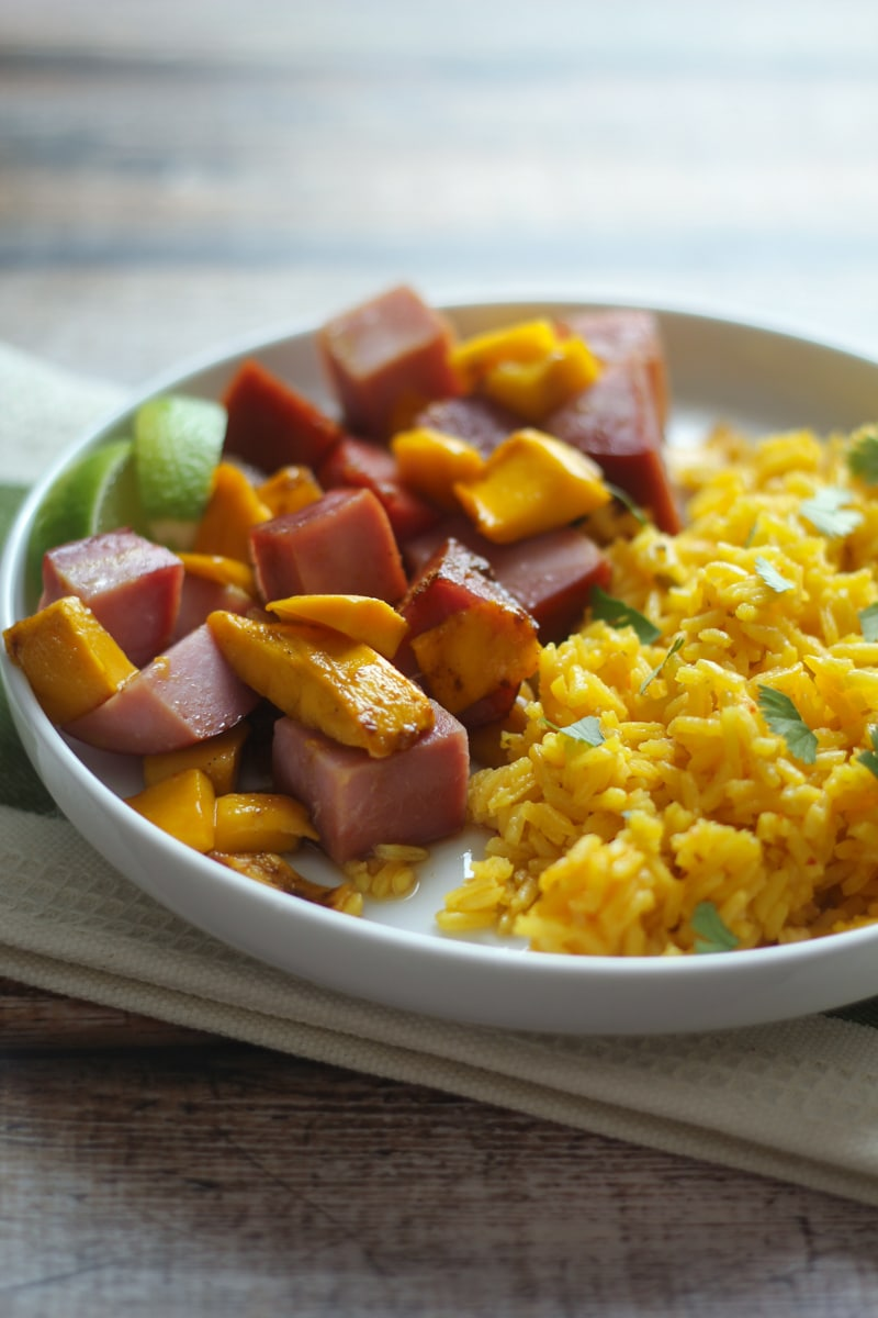 Curried Ham with Mangoes - The most under-loved recipes on my site!