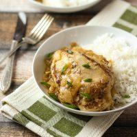 Poulet Yassa (Senegalese Chicken)