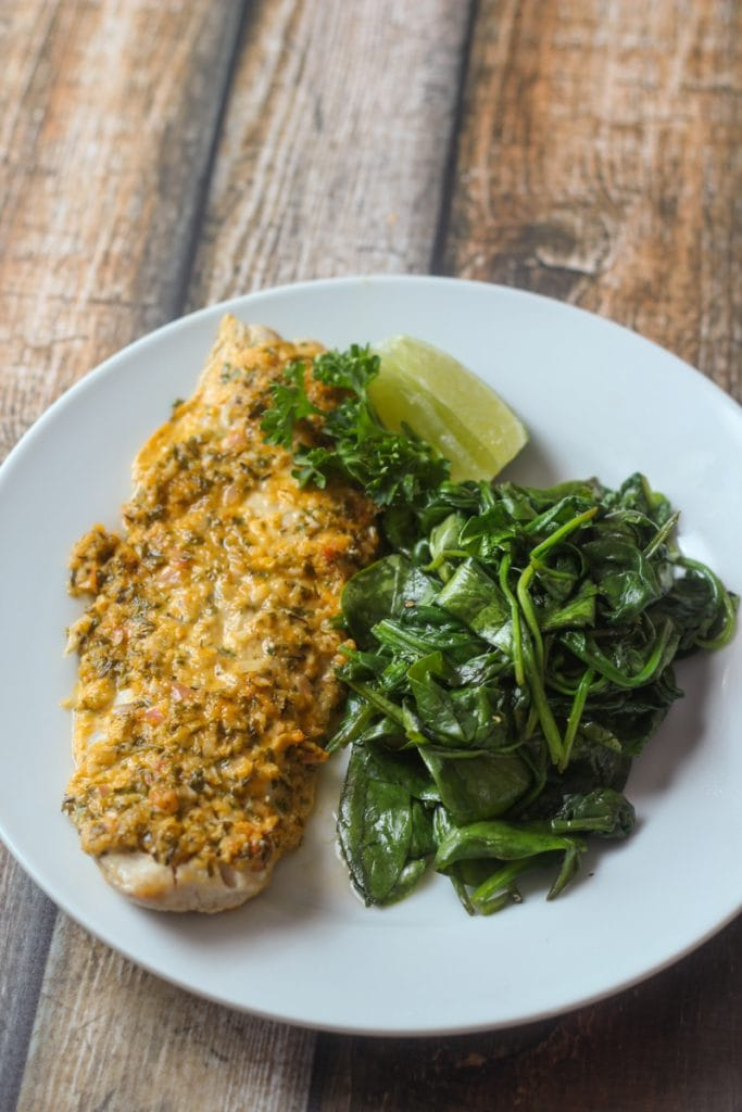 This healthy snapper recipe, Snapper Barbados, combines lime juice, parsley, thyme, shallots, garlic and spices for a delicious tropical snapper dish.