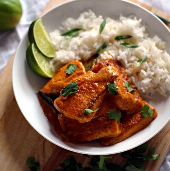 Crispy Tilapia In Curry Sauce