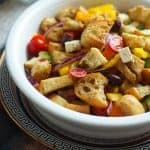 Easy Greek Panzanella