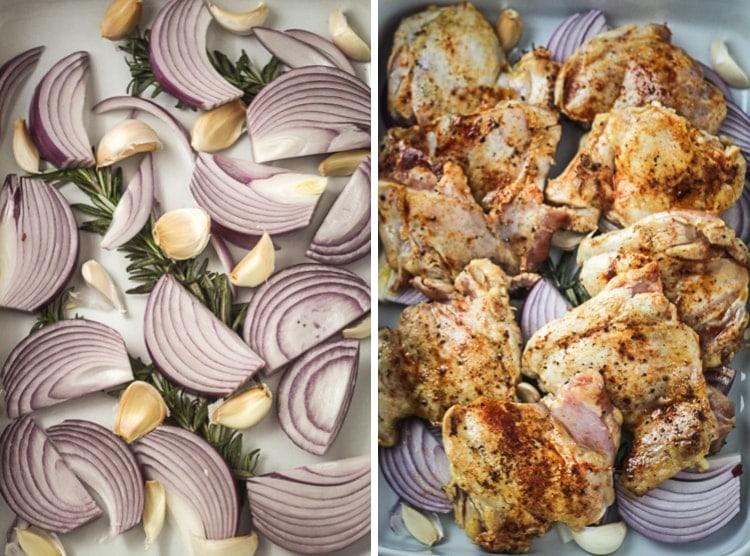 Israeli roast chicken the wanderlust kitchen israeli roast chicken forumfinder Images
