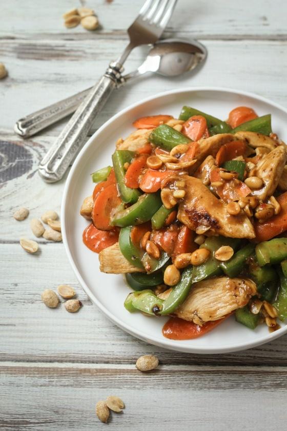 20 Minute Skinny Szechuan Chicken