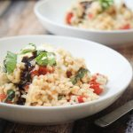 Burst Tomato and Basil Risotto with Mascarpone