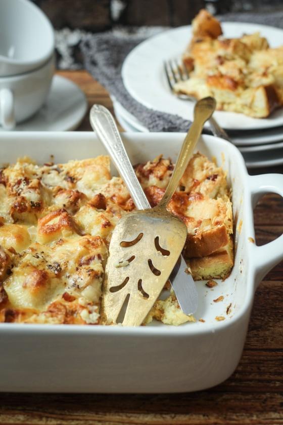 Easy Cheese Overnight Italian Strata