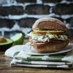Jamaican Jerk Turkey Sandwich & March Madness Contest!