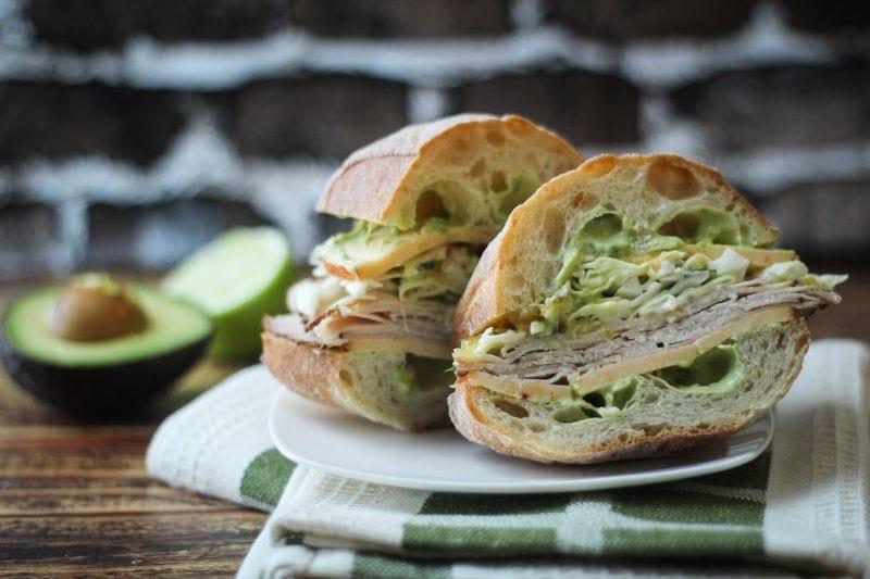 Jamaican Jerk Turkey Sandwich