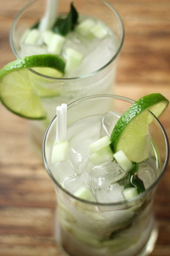 Thai Lime Leaf Cooler | thewanderlustkitchen.com