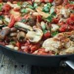 Tuscan Chicken Skillet