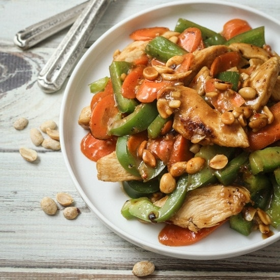 20-Minute Skinny Szechuan Chicken - The