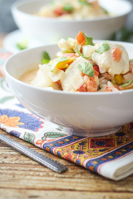 Brazilian Fish Soup (Moqueca) - this will become your favorite soup recipe!