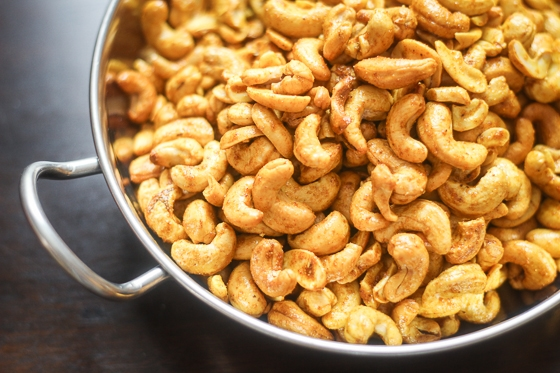 This Curry Cashew recipe is so easy to make and you are going to love the delicious, addictive flavor of this snack! It is a great party appetizer!