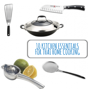 10 Kitchen Essentials for Thai Home Cooking