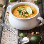 Thai Sweet Potato & Carrot Soup