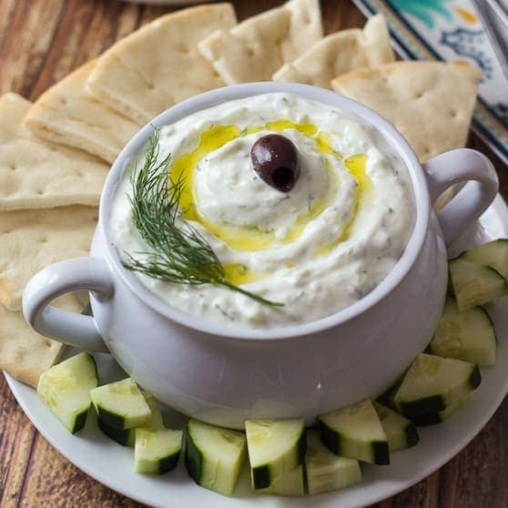 Authentic Greek Tzatziki The Wanderlust Kitchen