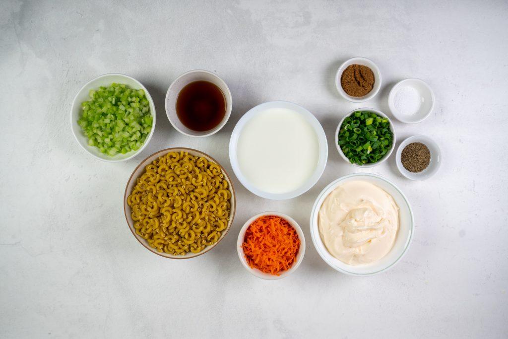 How to Make Hawaiian Macaroni Salad. Hawaiian Macaroni Salad Ingredients.