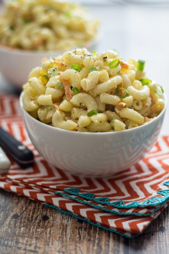Macaroni Salad Hawaiian (this is the one you've been looking for!)