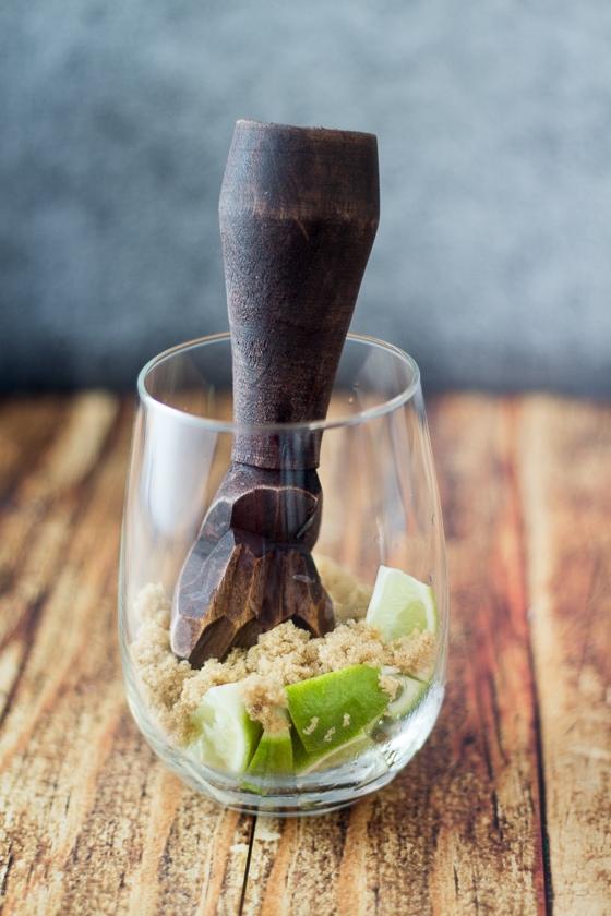 How to make a Brazilian Caipirinha, the RIGHT way.