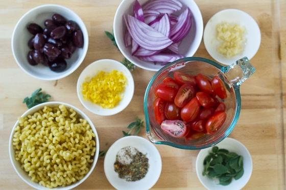 20 Minute Greek Pasta with Chicken