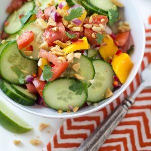 Mango & Cucumber Salad