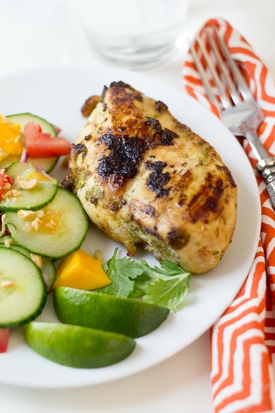Jamaican jerk chicken lightened up the wanderlust kitchen healthy jamaican jerk chicken recipe forumfinder Gallery