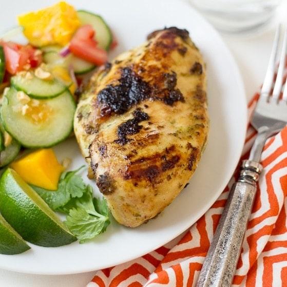 Jamaican jerk chicken lightened up the wanderlust kitchen forumfinder Gallery